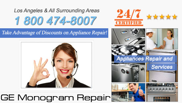 GE Monogram Repair and Service. Tel: 1 800 474-8007